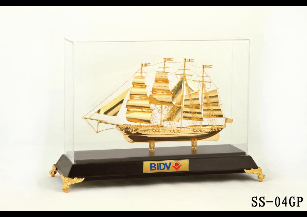 Mô hình thuyền buồm xuôi gió